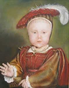 King Edward V1  aged Two