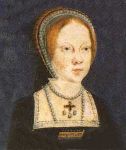 Queen Mary I when known as Lady Mary