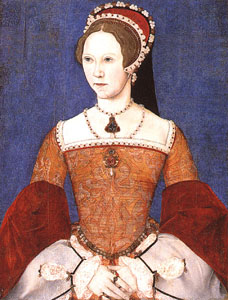 Queen Mary I aged 28 yrs