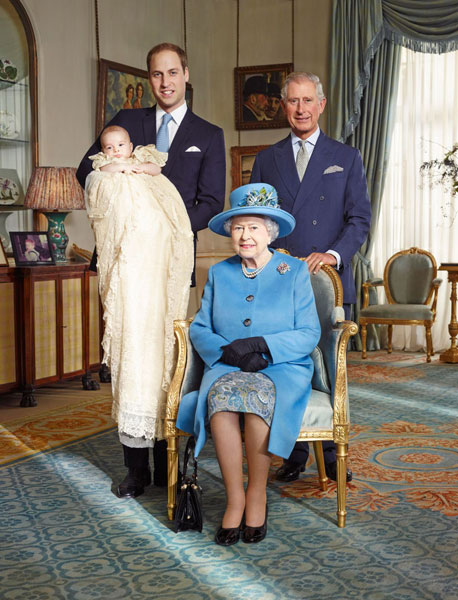 Queen Elizabeth and her successors
