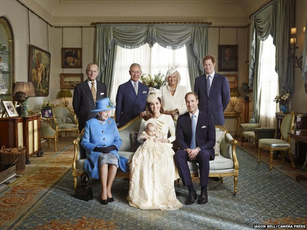 Prince George and the Windsors